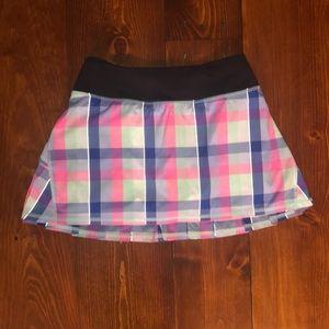 Plaid Lululemon Skirt